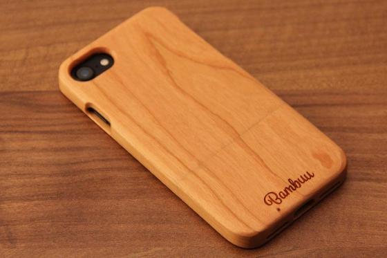 iPhone 7 Hard Case - Kirschenholz 4