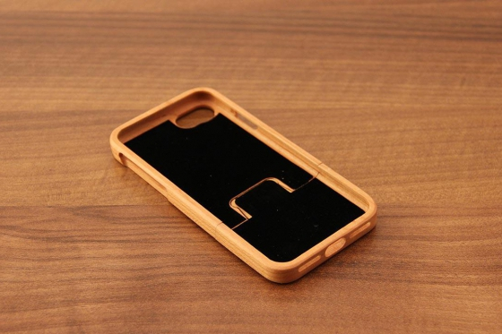 iPhone 7 Hard Case - Kirschenholz 6
