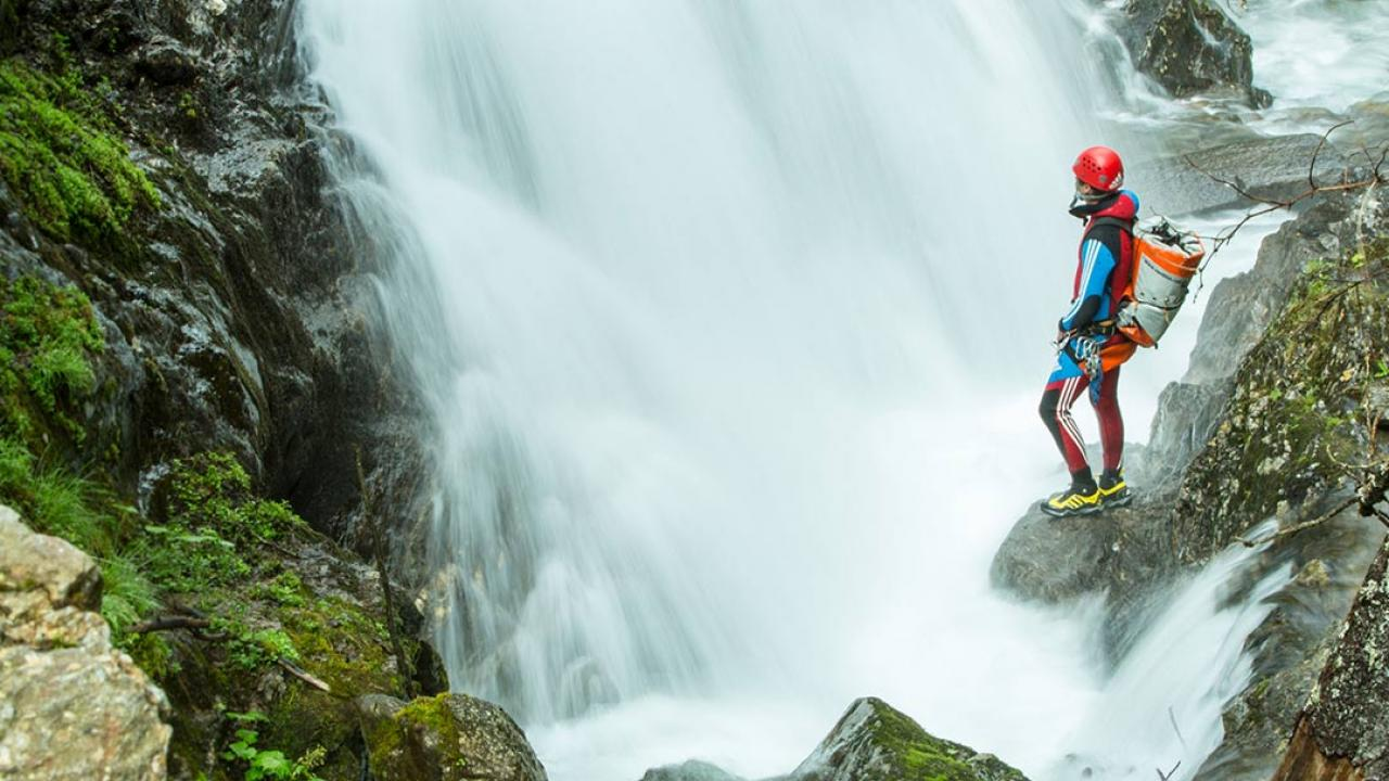 Klettergurt Canyoning : Canyoning tour canyon college im Ötztal geschenkparadies.ch