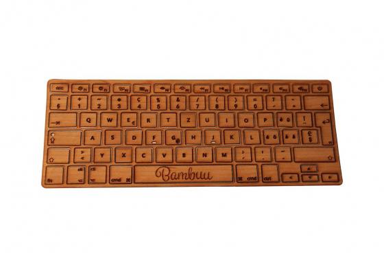 MacBook Tastatur Skin - Kirschholz 2