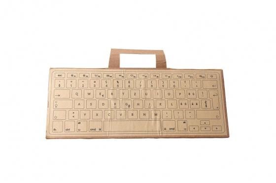MacBook Tastatur Skin - Walnussholz 3