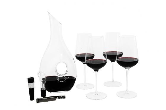 Set de vin - Décanteur inclus verres