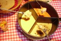 Käse selber machen - und Fondue Trio auf der Alp