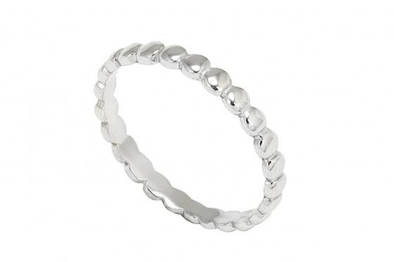 Silber Ring   - mit Zirkonia