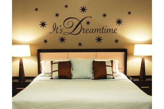 Wandtattoo - Its Dreamtime - in div. Grössen erhältlich