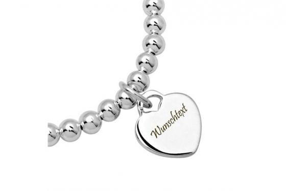 925er Silberarmband - mit Gravur 1