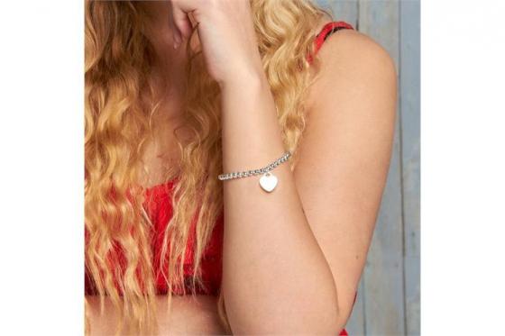 925er Silberarmband - mit Gravur 2