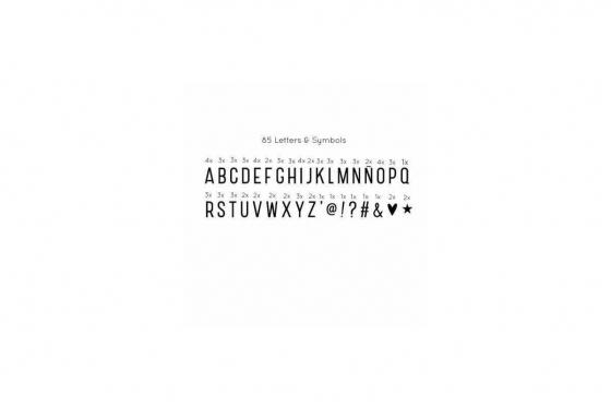 Message Box - 85 Buchstaben & Symbole 2