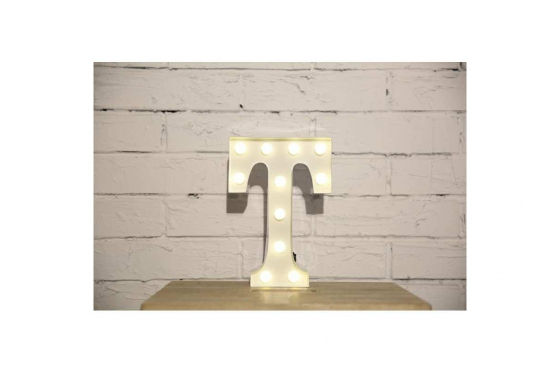 Vegas Lights LED - Leuchtbuchstabe T