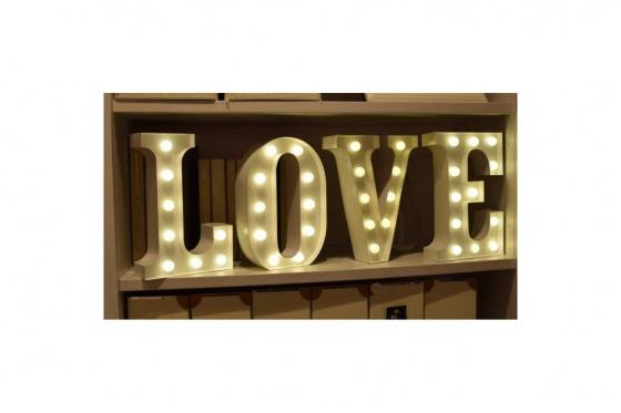 Vegas Lights LED - Leuchtbuchstabe T 1