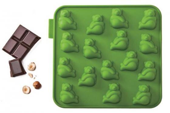 Schokoladenform Panda - in fünf Tiermotiven