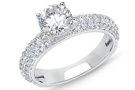 Verlobungsring 925er Silber  - mit Gravur