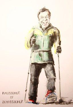 Witziges Portrait als Geschenk - Wunschbild selber zeichnen lassen 2 [article_picture_small]