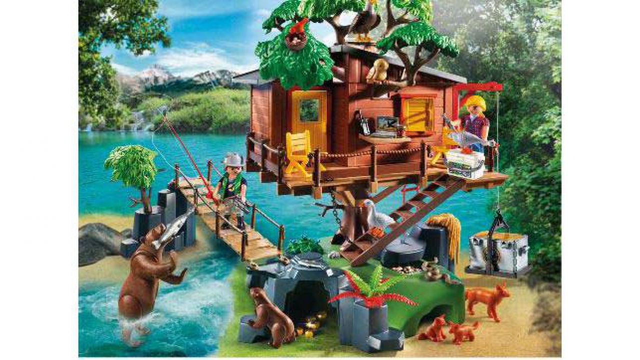 Abenteuer-Baumhaus, Playmobil® Abenteuer - 5557 | Kidsahoi.ch