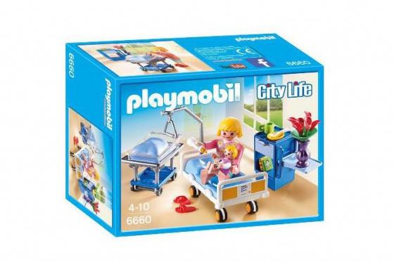 Krankenzimmer mit Babybett - Playmobil® City-Life - 6660