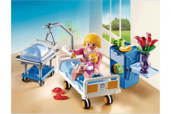 Krankenzimmer mit Babybett - Playmobil® City-Life - 6660 2