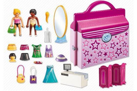 Modeboutique zum Mitnehmen - Playmobil® City-Life - 6862 1