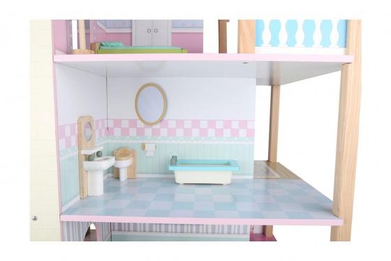 Puppenhaus Rosa - Drehbar 2