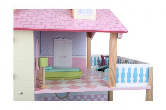 Puppenhaus Rosa - Drehbar 3