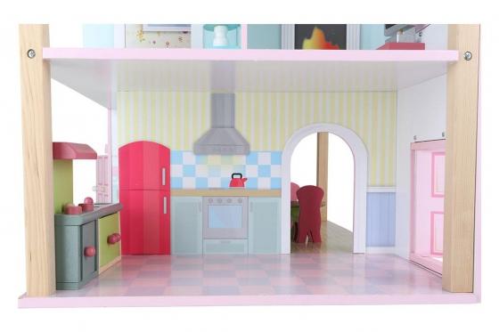 Puppenhaus Rosa - Drehbar 4