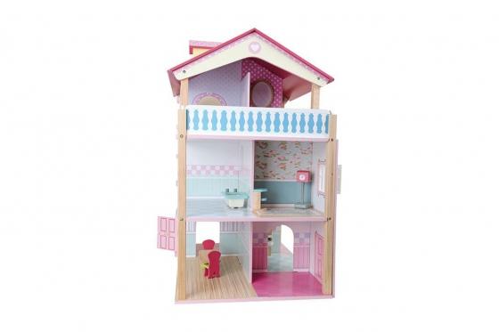 Puppenhaus Rosa - Drehbar 5