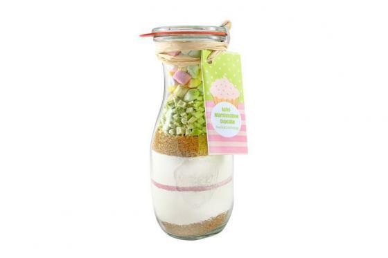 Cupcake-Backmischung - Apfel-Marshmallow