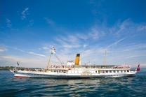 Carte journalière CGN - Naviguez à volonté sur le lac Léman! Pour 1 personne - 2ème classe