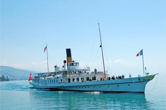 Carte journalière CGN - Naviguez à volonté sur le lac Léman! Pour 1 personne - 1ère classe  [article_picture_small]