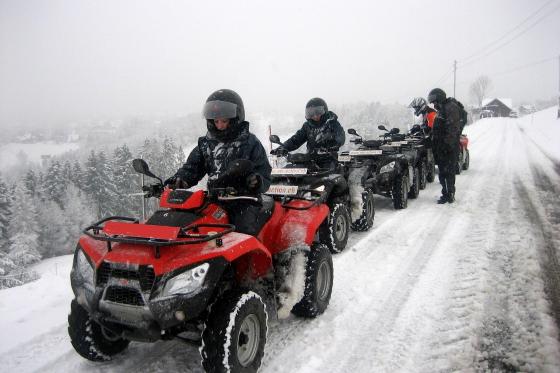 Quad Tour im Schnee 2h - mit Fondue im Appenzellerland  [article_picture_small]