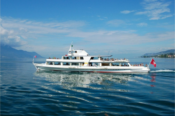 Carte journalière CGN - Naviguez à volonté sur le lac Léman! 1 personne - 2ème classe - avec 1/2 tarif 3 [article_picture_small]