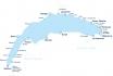 Carte journalière CGN-Naviguez à volonté sur le lac Léman! 2 personnes - 2ème classe - avec 1/2 tarif 10