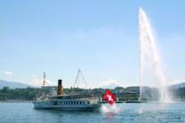 Carte journalière CGN - Naviguez à volonté sur le lac Léman! 2 personnes - 2ème classe - avec 1/2 tarif