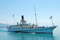 Carte journalière CGN - Naviguez à volonté sur le lac Léman! 1 personne - 1ère classe - avec 1/2 tarif