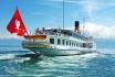 Carte journalière CGN-Naviguez à volonté sur le lac Léman! 2 personnes - 1ère classe - avec 1/2 tarif 1