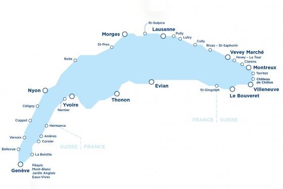 Carte journalière CGN - Naviguez à volonté sur le lac Léman! 2 personnes - 1ère classe - avec 1/2 tarif 10 [article_picture_small]