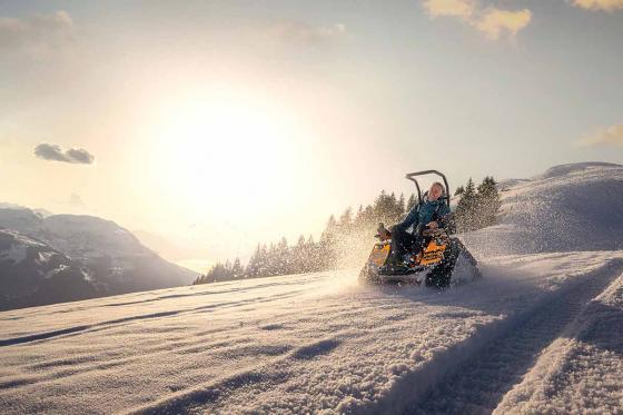 Winteraction Zieseltour - Raupenfahrspass im Schnee, für 2 Personen 4 [article_picture_small]