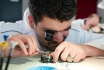 Initiation aux métiers d'art horlogers-Découverte de la gravure et de l'anglage main 6