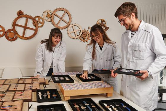 Initiation aux métiers d'art horlogers - Découverte de la gravure et de l'anglage main 2 [article_picture_small]