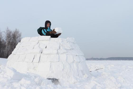 Iglu bauen - mit Übernachtung + Schneetour 2 [article_picture_small]