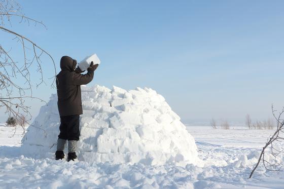 Iglu Übernachtung - im selbst gebauten Iglu inkl. Schneeschuhtour 3 [article_picture_small]