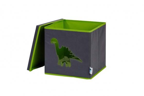 Coffre à jouets avec fenêtre de vue - Dinosaure