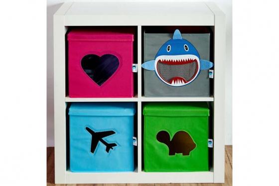 Coffre à jouets avec fenêtre de vue - Dinosaure 2