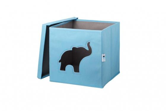 Boîte à jouets avec fenêtre - Éléphant