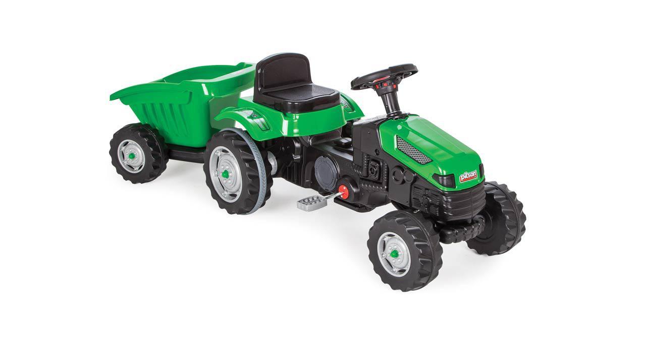 Tracteur p dales avec remorque incluse - Remorque tracteur enfant ...