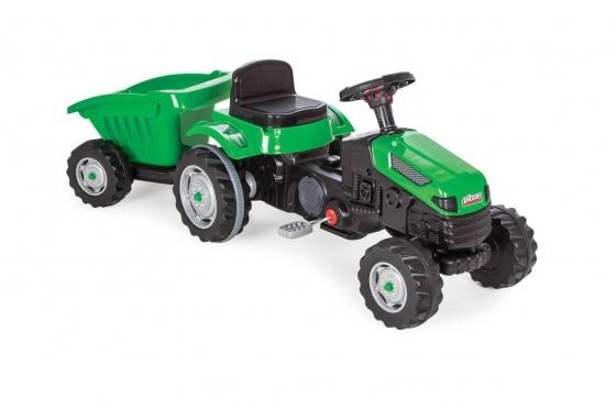Traktor inkl. Anhänger - mit Tretantrieb, 143 x 51 x 51 cm