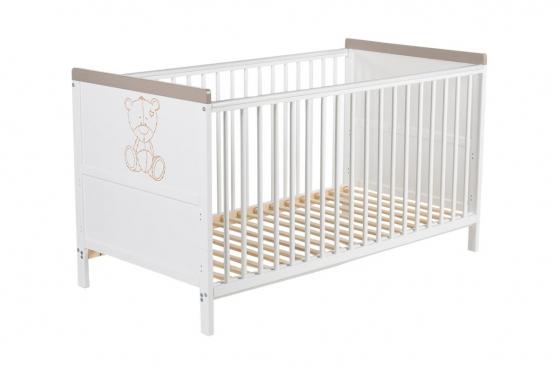 Lit pour bébé Tegan - 144 x 75 x 80cm