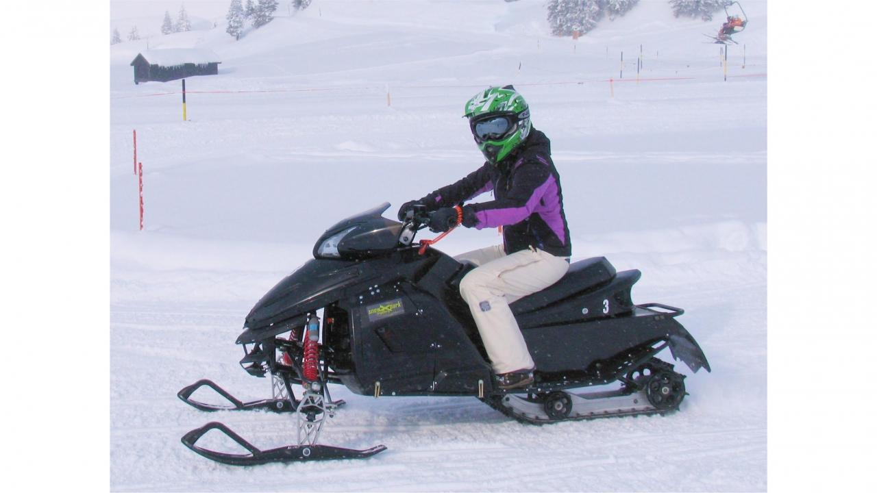 Snowmobile f r 2 for Smow gutschein