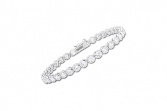 Armband Silber - mit Zirkonia