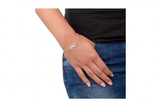 Bracelet en argent - Avec zircon 1