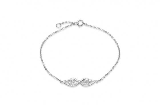 Bracelet ailes d'ange - Argent 925